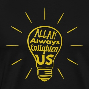 Allah nous Enlighten - T-shirt Premium Homme