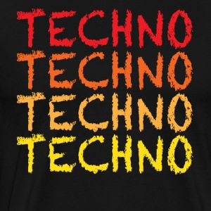 Techno - Premium T-skjorte for menn