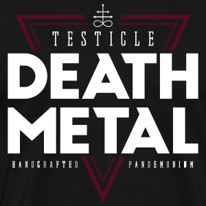Testikkel Death Metal - Premium T-skjorte for menn