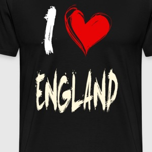 I love england - T-shirt Premium Homme