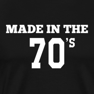 Made in the 70's - Men's Premium T-Shirt
