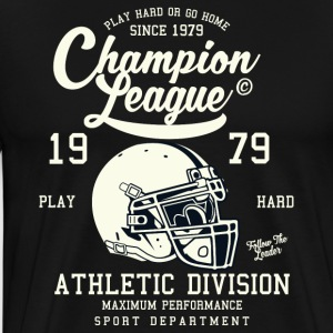 Champion League Division Athletic Baseball Jersey - Herre premium T-shirt