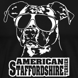 AMERICAN STAFFORDSHIRE TERRIER cool - Men's Premium T-Shirt