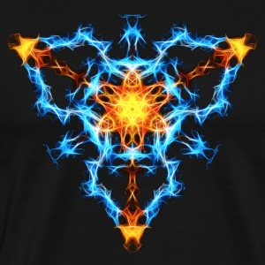 Flame, fractal, energy, power, chi, shield, hero