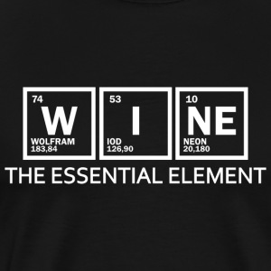 Wine - element - Men's Premium T-Shirt