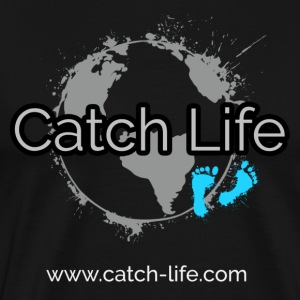 Catch Life Black - Männer Premium T-Shirt
