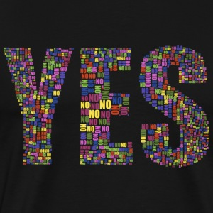 YES - OUI - T-shirt Premium Homme