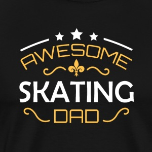 Skating far - Herre premium T-shirt