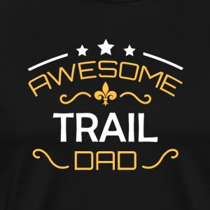 Trail pappa - Premium T-skjorte for menn