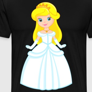 princess - Premium-T-shirt herr
