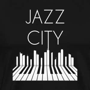 Jazz City - Premium-T-shirt herr