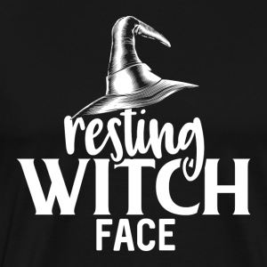Resting Witch Face - Männer Premium T-Shirt