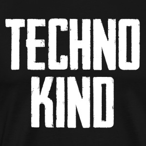 Technokind - neues Techno Party Design - Männer Premium T-Shirt