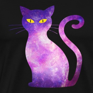 chat space - Cat Galaxy étoile Hipster Orion - T-shirt Premium Homme