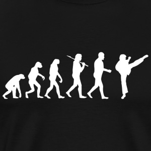 Martial Arts Evolution - Premium-T-shirt herr