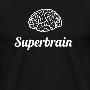 superbrain cerveau super geek pc ballot ordinateur cpu lol - T-shirt Premium Homme