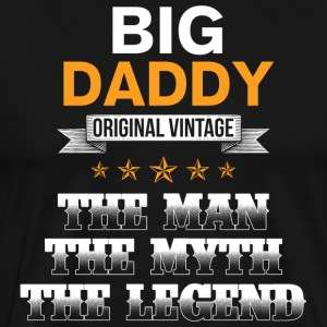 Big Daddy - Original Vintage - Mannen Premium T-shirt