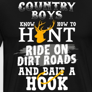 country music 9 png - Männer Premium T-Shirt