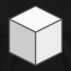 White Cube - Men's Premium T-Shirt