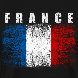 France Flag 008 AllroundDesigns - Men's Premium T-Shirt