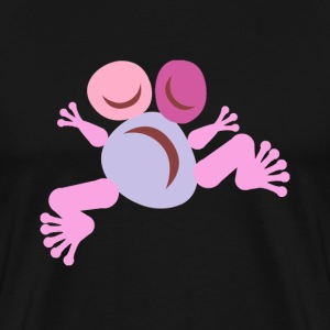 Frog Pink Totem - T-shirt Premium Homme