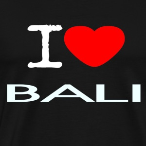 I LOVE BALI - Premium T-skjorte for menn