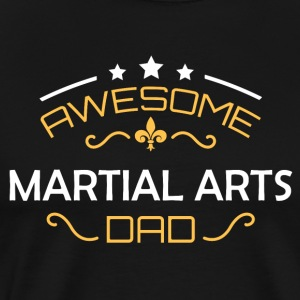 Martial Arts dad - Men's Premium T-Shirt