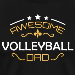 Volleyball dad - Men's Premium T-Shirt