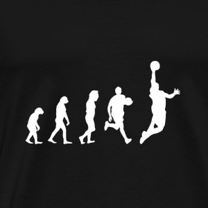Evolution Basketball - Gift - Ballsport - Men's Premium T-Shirt