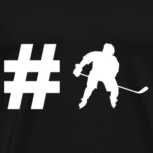 Hashtag Hockey - Ice Hockey - Gift - Sport - Men's Premium T-Shirt