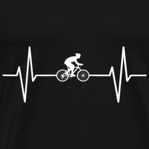 My heart beats for bicycles! present - Men's Premium T-Shirt