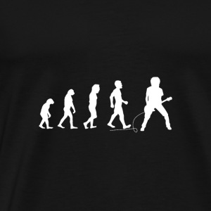 Evolution Guitar Player Guitar - music gift - Men's Premium T-Shirt