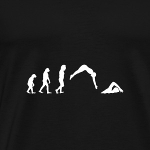 Evolution Float - Natation - Cadeau - Sports - T-shirt Premium Homme