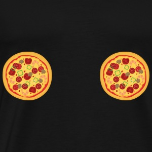 TITTEN PIZZA - Men's Premium T-Shirt