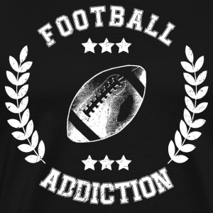 Football Addiction - Verslaving Balsporten - Mannen Premium T-shirt