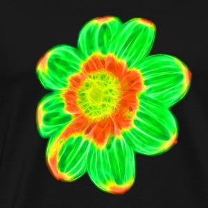 Green flower - Men's Premium T-Shirt