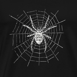 Spin Spin netto spin angst benen Kerstmis - Mannen Premium T-shirt