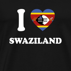 i love home gift country SWAZILAND - Men's Premium T-Shirt