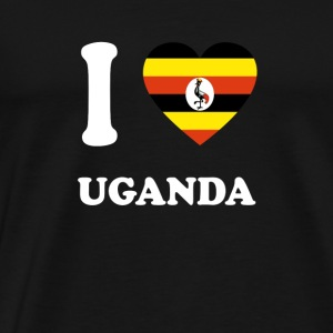 i love home gift land UGANDA - Men's Premium T-Shirt