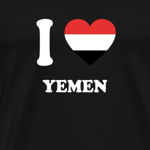 i love home gift land YEMEN - Men's Premium T-Shirt