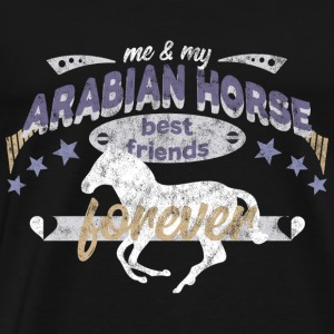 Cheval Arabe Cheval Arabe race BFF - T-shirt Premium Homme