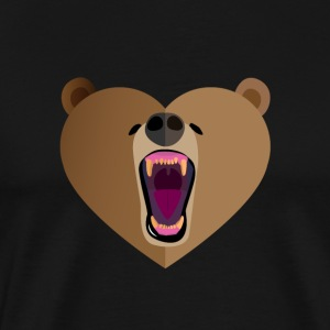 Grizzly Amour - T-shirt Premium Homme