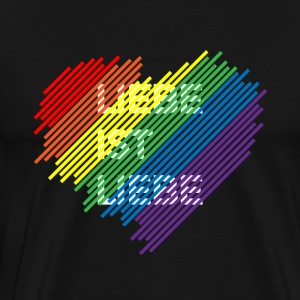 Gay Pride Shirt - Herre premium T-shirt