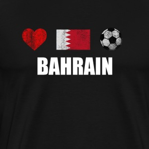Bahreïn Football Shirt - Bahrain Football Jersey - T-shirt Premium Homme
