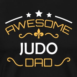 Judo dad - Men's Premium T-Shirt