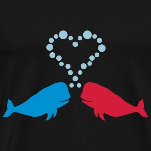 Love Whales - Gift - Men's Premium T-Shirt