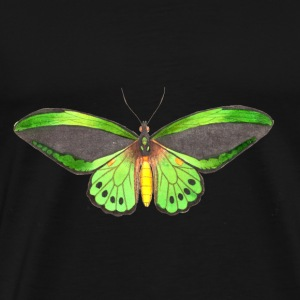 Butterfly - illustration - Men's Premium T-Shirt