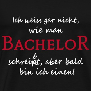 student zum bachelor von fancyshirt spreadshirt. Black Bedroom Furniture Sets. Home Design Ideas