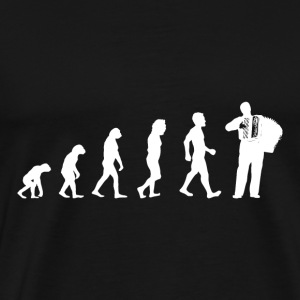 Evolution Ziehorgel Shirt Cadeau Accordéon