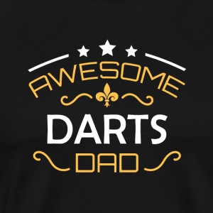 dart far - Herre premium T-shirt